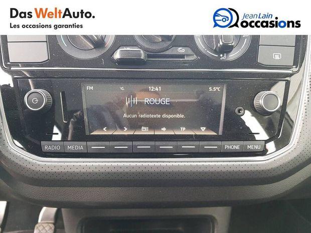 Photo miniature de la Volkswagen Up 1.0 60 BlueMotion Technology BVM5 Up! Connect 2018 d'occasion