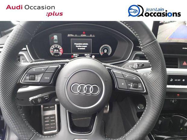 Photo miniature de la Audi A4 40 TFSI 190 S tronic 7 S line 2019 d'occasion