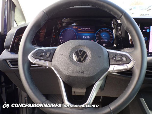 Photo miniature de la Volkswagen Golf 1.5 eTSI OPF 150 DSG7 Style 1st 2020 d'occasion