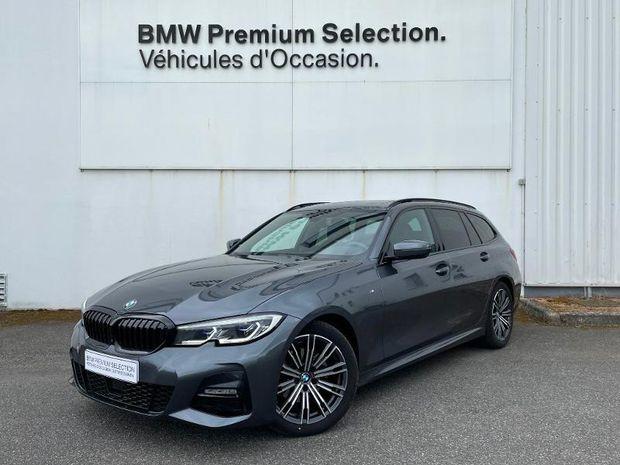 Photo miniature de la BMW Serie 3 Touring 320dA 190ch M Sport 2020 d'occasion
