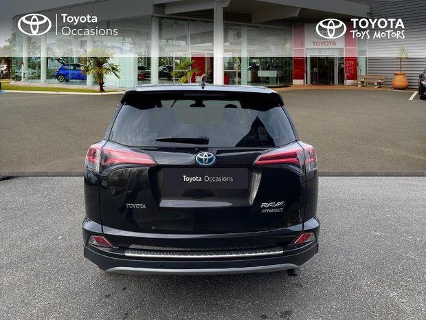 Photo miniature de la Toyota RAV4 197 Hybride Lounge 2WD CVT 2017 d'occasion
