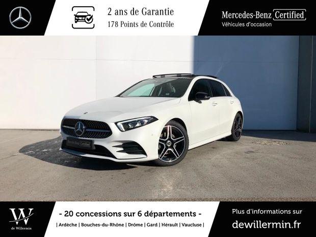 Photo miniature de la Mercedes Classe A 180 d 116ch AMG Line 7G-DCT 2020 d'occasion