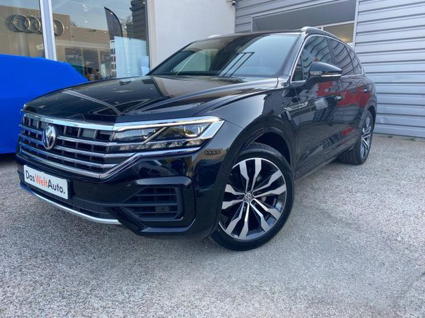 Photo miniature de la Volkswagen Touareg 3.0 V6 TDI 286ch R-line Exclusive 4Motion Tiptronic 2019 d'occasion