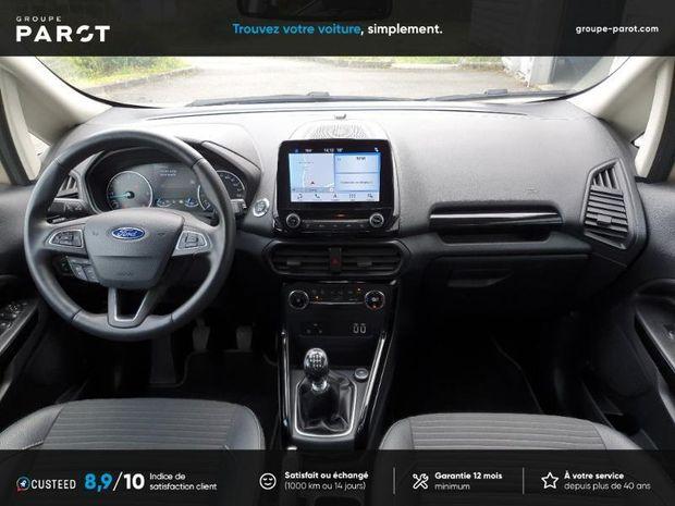 Photo miniature de la Ford EcoSport 1.5 EcoBlue 125ch Titanium 4x2 Euro6.2 2019 d'occasion