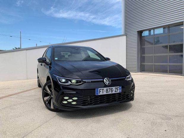 Photo miniature de la Volkswagen Golf 1.4 Hybrid Rechargeable OPF 245 DSG6 GTE 2020 d'occasion