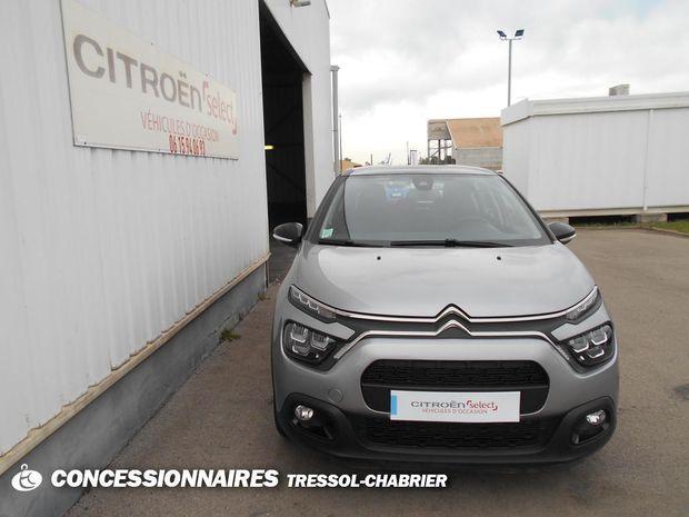 Photo miniature de la Citroën C3 BlueHDi 100 S&S BVM5 Shine Business 2020 d'occasion