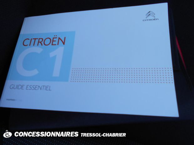 Photo miniature de la Citroën C1 VTi 72 S&S Live 2019 d'occasion