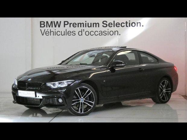 Photo miniature de la BMW Serie 4 Coupe 420dA xDrive 190ch M Sport 2020 d'occasion