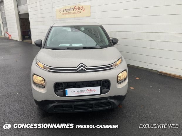 Photo miniature de la Citroën C3 Aircross PureTech 82 BVM5 Live 2018 d'occasion
