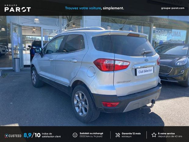 Photo miniature de la Ford EcoSport 1.0 EcoBoost 125ch Titanium Business Euro6.2 2018 d'occasion