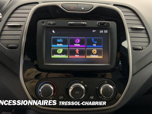 Photo miniature de la Renault Captur dCi 90 Energy eco² SL Cool Grey 2017 d'occasion