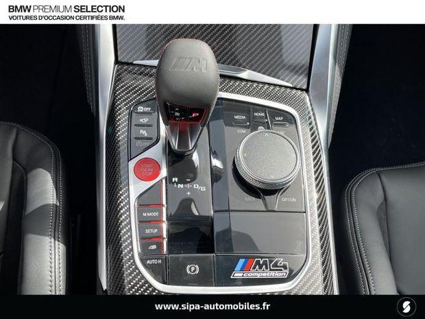 Photo miniature de la BMW Serie 4 M4 Coupe 3.0 510ch Competition 2021 d'occasion