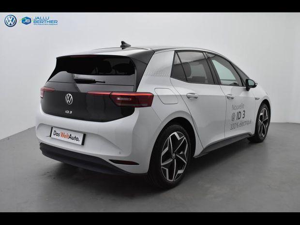 Photo miniature de la Volkswagen ID.3 204ch 1st 2020 d'occasion