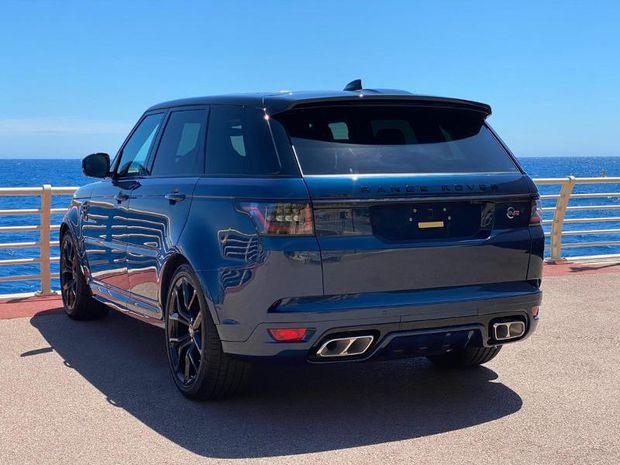 Photo miniature de la Land Rover Range Rover Sport 5.0 V8 S/C 575ch SVR CARBON EDITION Mark IX 2021 d'occasion