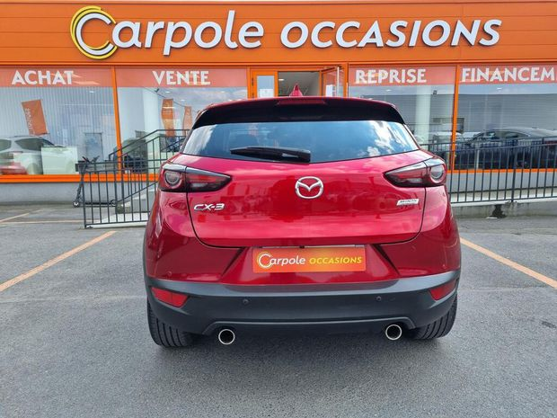 Photo miniature de la Mazda CX3 2.0L Skyactiv-G 121 4x2 BVA6 Selection 2019 d'occasion
