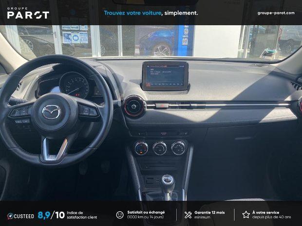 Photo miniature de la Mazda CX3 CX-3 2.0 SKYACTIV-G 120 Dynamique 2018 d'occasion