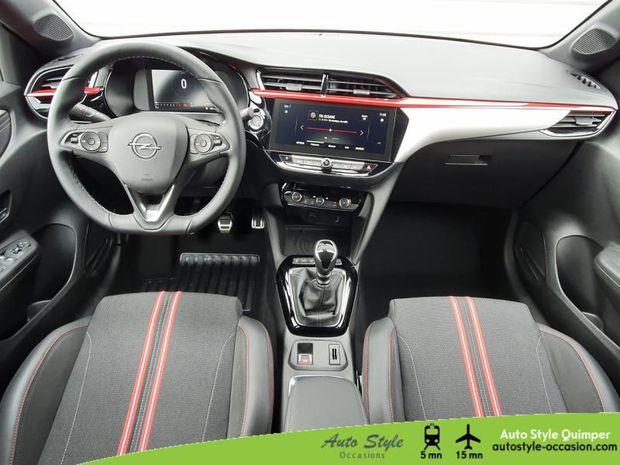 Photo miniature de la Opel Corsa 1.2 Turbo 100ch GS Line 2021 d'occasion