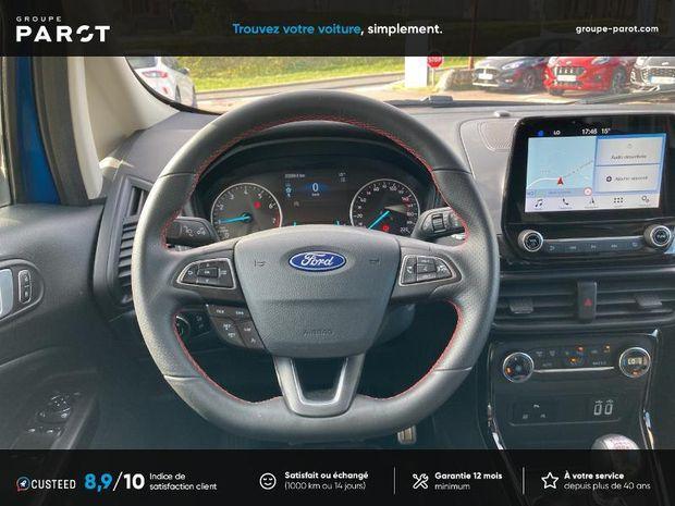 Photo miniature de la Ford EcoSport 1.0 EcoBoost 125ch ST-Line 2019 d'occasion