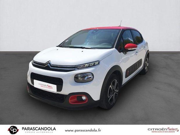 Photo miniature de la Citroën C3 PureTech 110ch Shine Business S&S EAT6 2018 d'occasion
