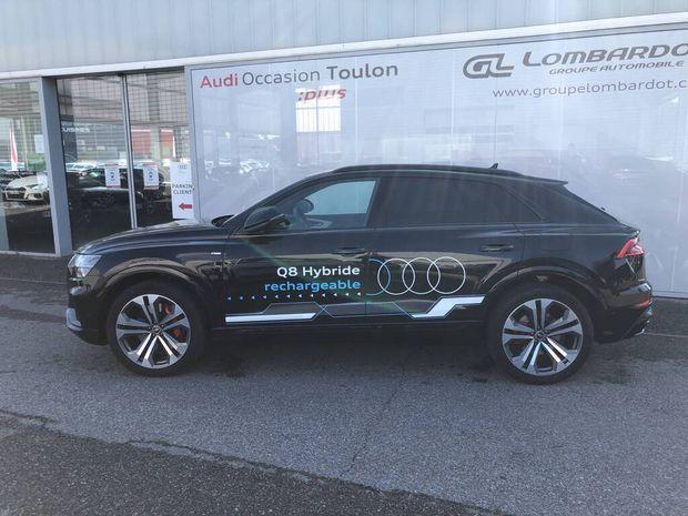 Photo miniature de la Audi Q8 60 TFSI e 462 Tiptronic 8 Quattro Compétition 2021 d'occasion
