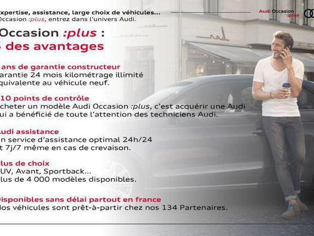 Photo miniature de la Audi A4 Avant 40 TDI 190 S tronic 7 S line 2020 d'occasion