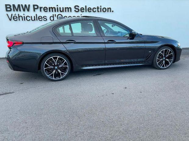 Photo miniature de la BMW Serie 5 520dA 190ch M Sport Steptronic 2020 d'occasion
