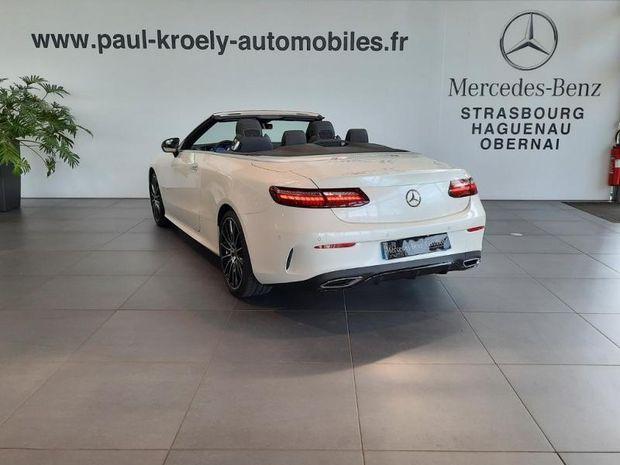 Photo miniature de la Mercedes Classe E Cabriolet 220 d 194ch AMG Line 9G-Tronic 2021 d'occasion
