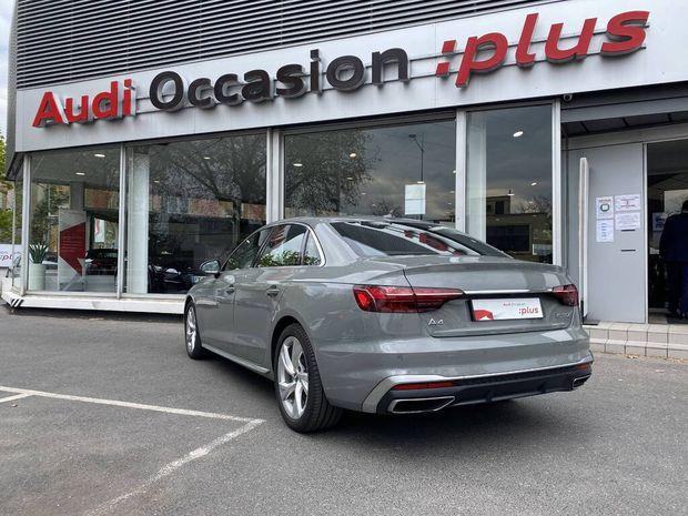 Photo miniature de la Audi A4 35 TDI 163 S tronic 7 S line 2019 d'occasion