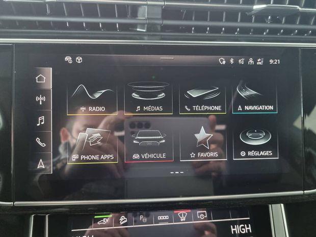 Photo miniature de la Audi Q8 55 TFSI e 381 Tiptronic 8 Quattro Avus Extended 2021 d'occasion