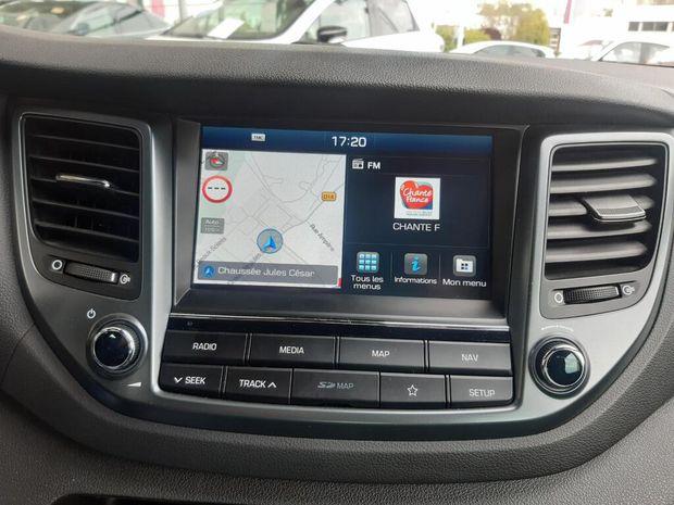 Photo miniature de la Hyundai Tucson 1.7 CRDi 115 2WD Initia Plus 2018 d'occasion