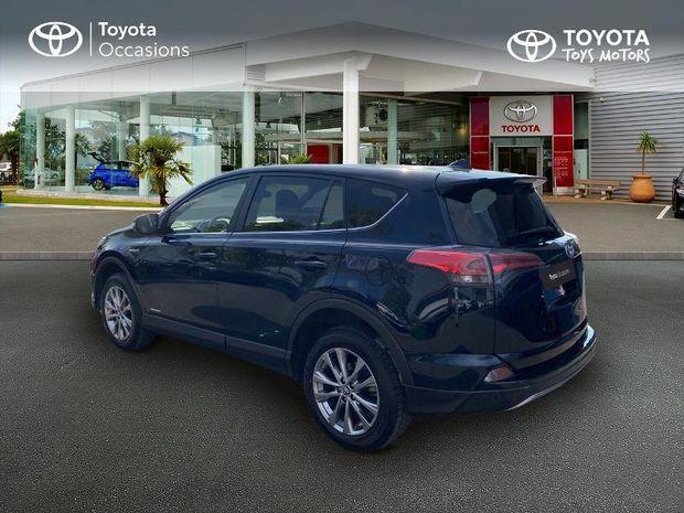 Photo miniature de la Toyota RAV4 197 Hybride Dynamic Edition 2WD CVT 2017 d'occasion