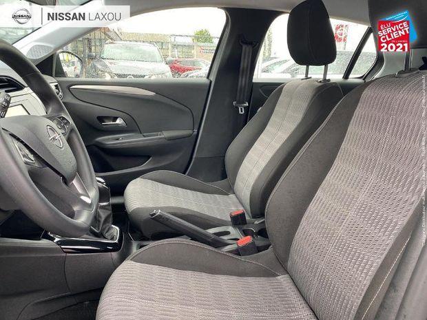 Photo miniature de la Opel Corsa 1.2 75ch Edition 1ere main Bluetooth Feu LED 2020 d'occasion