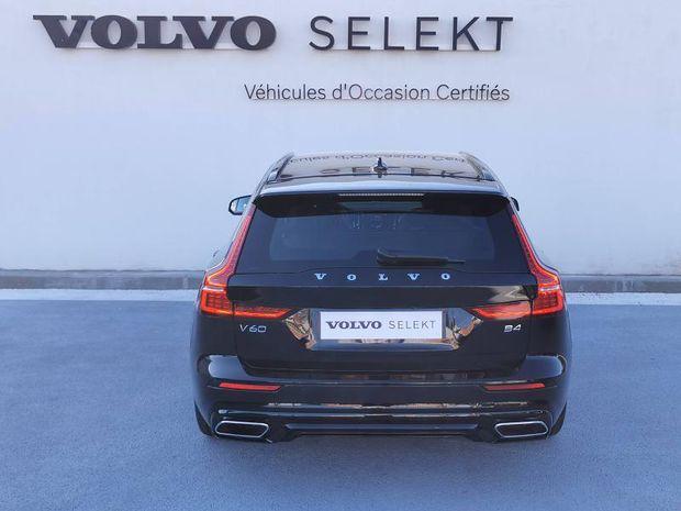 Photo miniature de la Volvo V60 B4 197ch AdBlue R-Design Geartronic 2021 d'occasion