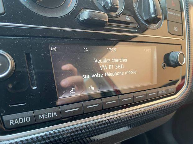 Photo miniature de la Volkswagen Up 1.0 60 Move Up! 2017 d'occasion