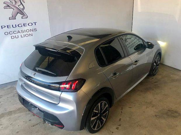 Photo miniature de la Peugeot 208 1.2 PureTech 130ch S&S GT EAT8 2021 d'occasion