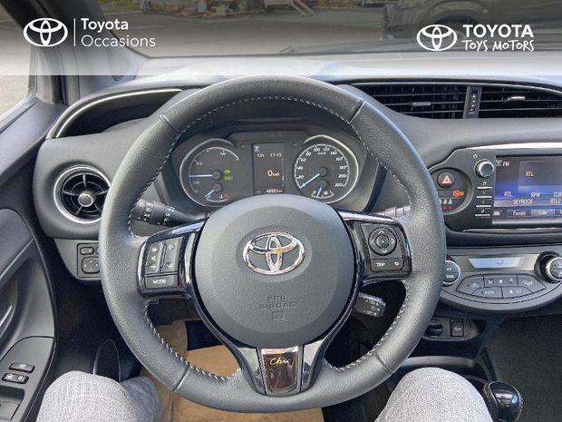 Photo miniature de la Toyota Yaris 100h Chic 5p RC18 2018 d'occasion