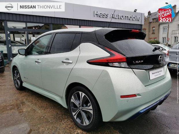 Photo miniature de la Nissan Leaf 150ch 40kWh 2.ZERO Gps Radar AV/AR Camera360 2018 d'occasion