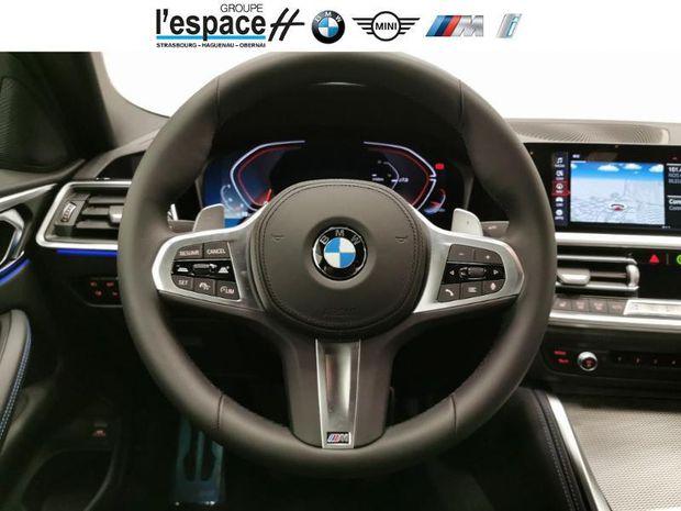 Photo miniature de la BMW Serie 4 Coupe 420dA xDrive 190ch M Sport 2021 d'occasion