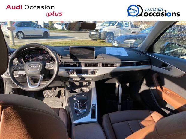 Photo miniature de la Audi A4 Avant 2.0 TDI 150 S tronic 7 Design Luxe 2017 d'occasion