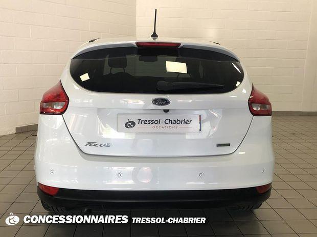 Photo miniature de la Ford Focus 1.0 EcoBoost 125 S&S Titanium 2018 d'occasion