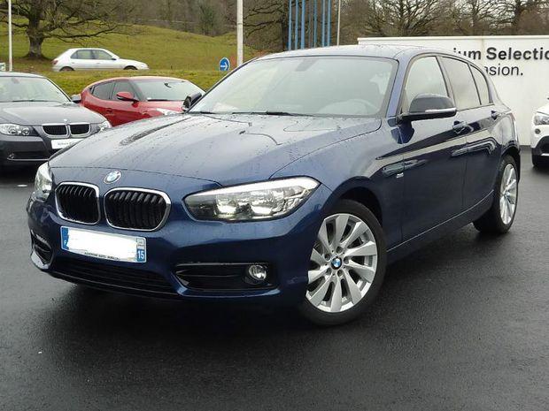 Photo miniature de la BMW Serie 1 118i 136ch Sport 5p 2015 d'occasion