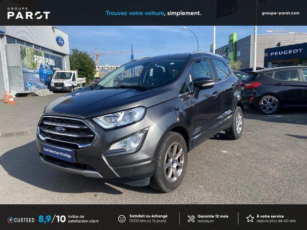 Photo miniature de la Ford EcoSport 1.0 EcoBoost 100ch Titanium Euro6.2 2019 d'occasion