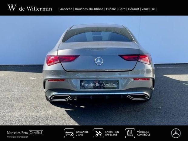 Photo miniature de la Mercedes CLA 180 d 116ch AMG Line 7G-DCT 2020 d'occasion