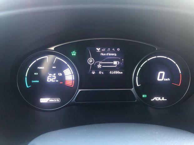 Photo miniature de la Kia Soul EV EV 110ch 30 kWh Ultimate 2017 d'occasion