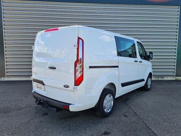Photo miniature de la Ford Transit Custom Fg 300 L1H1 2.0 TDCi 130 Cabine Approfondie Trend Business 7cv 2021 d'occasion