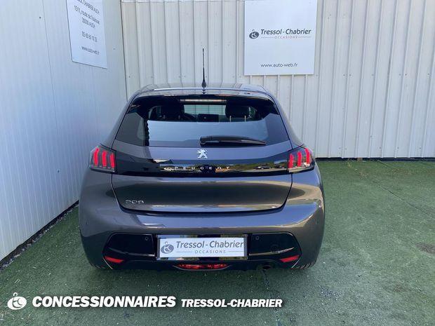 Photo miniature de la Peugeot 208 PureTech 100 S&S BVM6 Allure 2020 d'occasion
