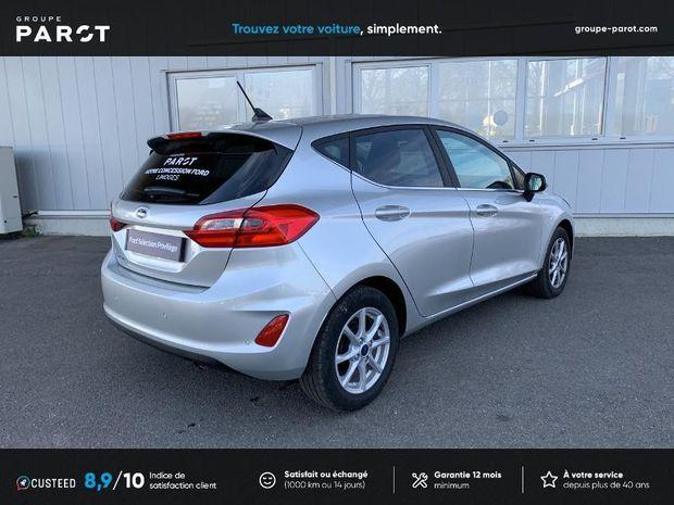 Photo miniature de la Ford Fiesta 1.1 75ch Titanium 5p 2021 d'occasion