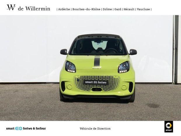 Photo miniature de la Smart fortwo Coupe Electrique 82ch passion 2021 d'occasion