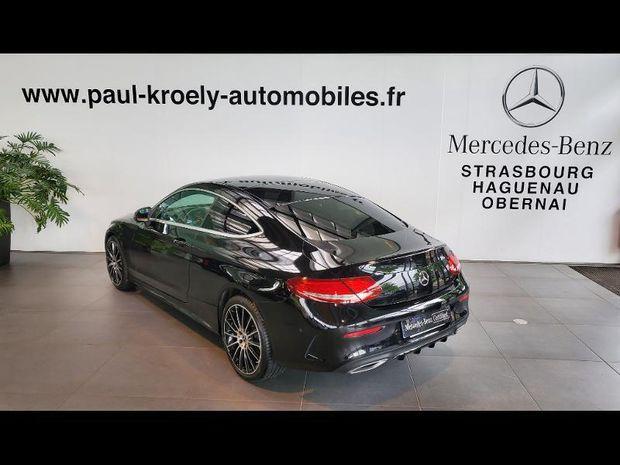 Photo miniature de la Mercedes Classe C Coupe 220 d 170ch Sportline 4Matic 9G-Tronic 2018 d'occasion