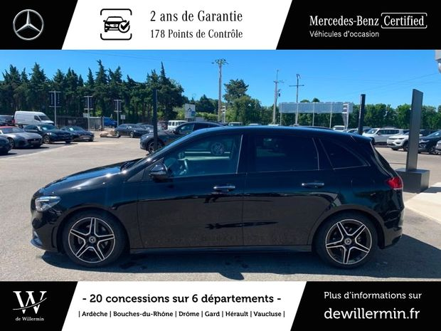 Photo miniature de la Mercedes Classe B 180d 116ch AMG Line 7G-DCT 2019 d'occasion
